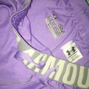 Under Armour Shorts - Under armor purple shorts size small